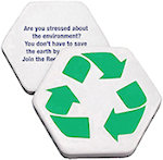 Recycle Symbol Stress Balls